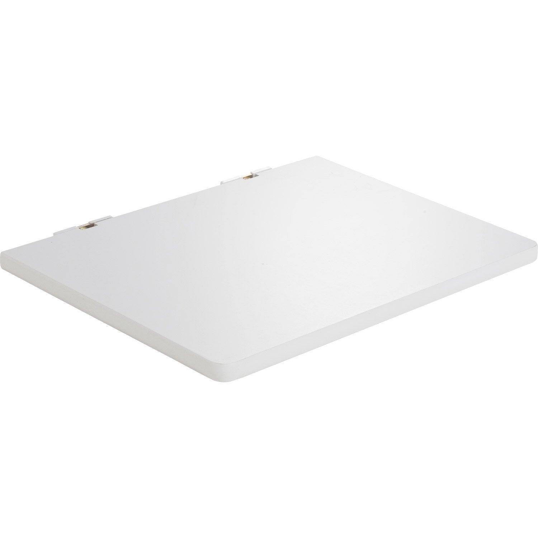 Schminktisch Ikea Ohne Spiegel ~ Etagère pour micro onde blanc Astuce DURALINE, L 50 x P 40 cm, ép