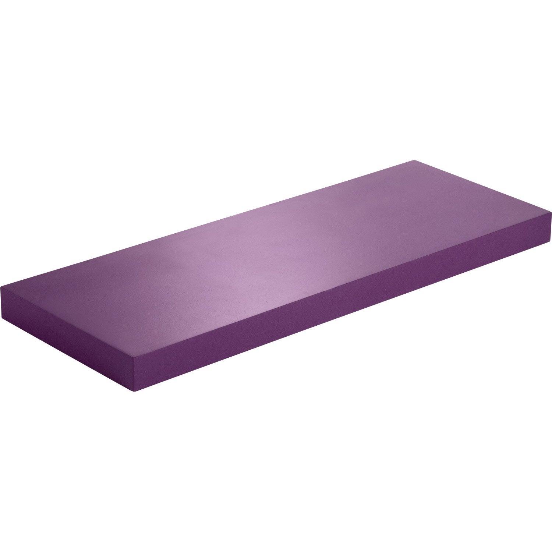 etag re murale violet tulipe n 3 spaceo l 60 x p 23 5 cm mm leroy merlin. Black Bedroom Furniture Sets. Home Design Ideas