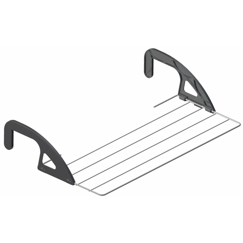 Etendoir radiateur blanc gris azur leroy merlin for Comfilm pour fenetre salle de bain