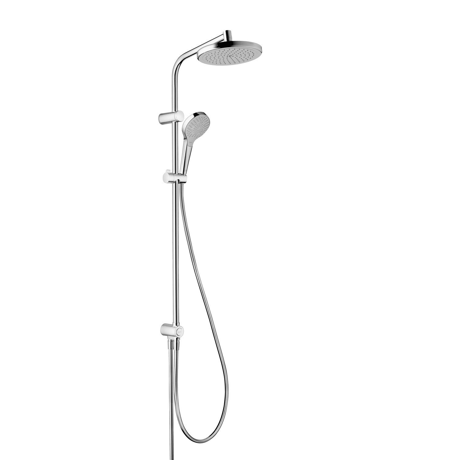 Barre de douche hansgrohe hansgrohe kit mitigeur de for Ensemble de douche leroy merlin