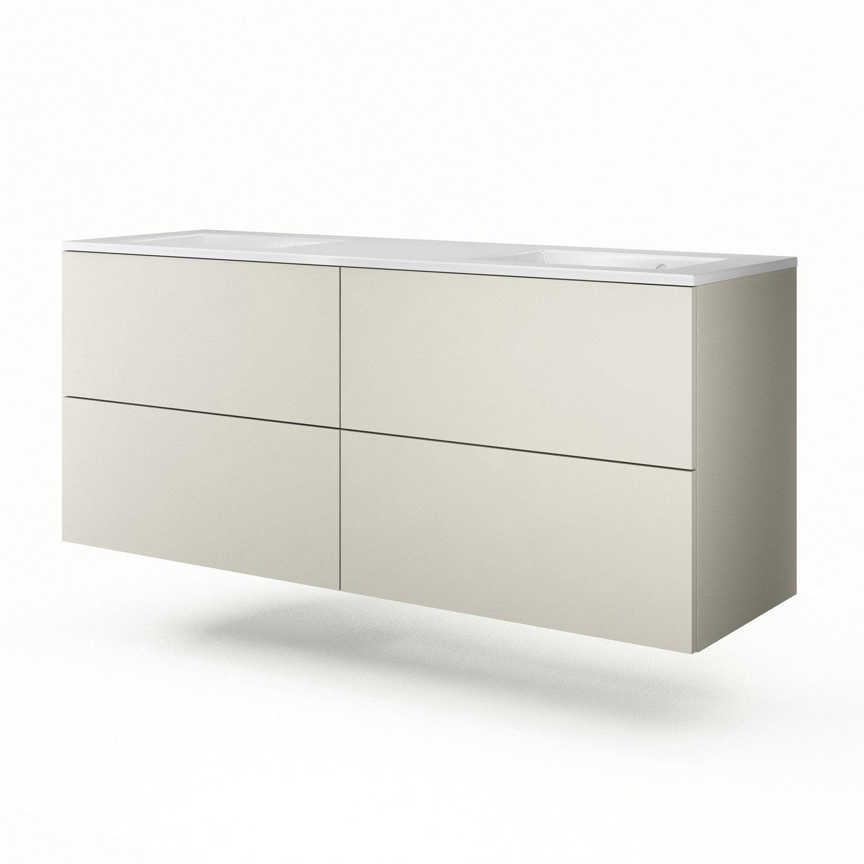 meuble vasque 151 cm gr ge neo line leroy merlin. Black Bedroom Furniture Sets. Home Design Ideas