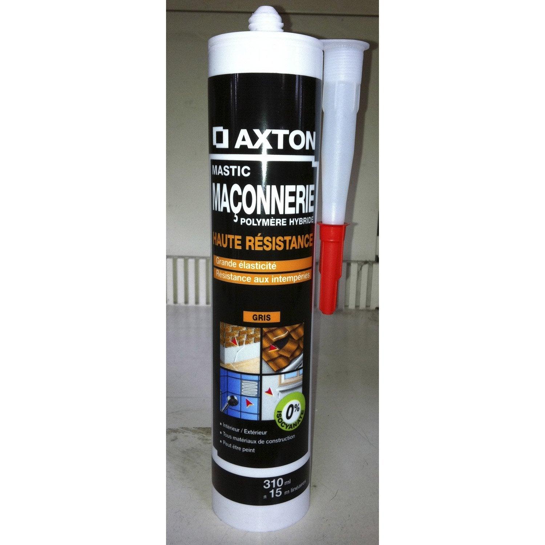 Mastic axton 310 ml gris leroy merlin - Joint acrylique leroy merlin ...