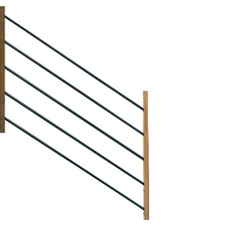 Garde Corp Bois Leroy Merlin : -poteaux MOKA pour garde-corps en bois, H.96 x l.15 cm Leroy Merlin