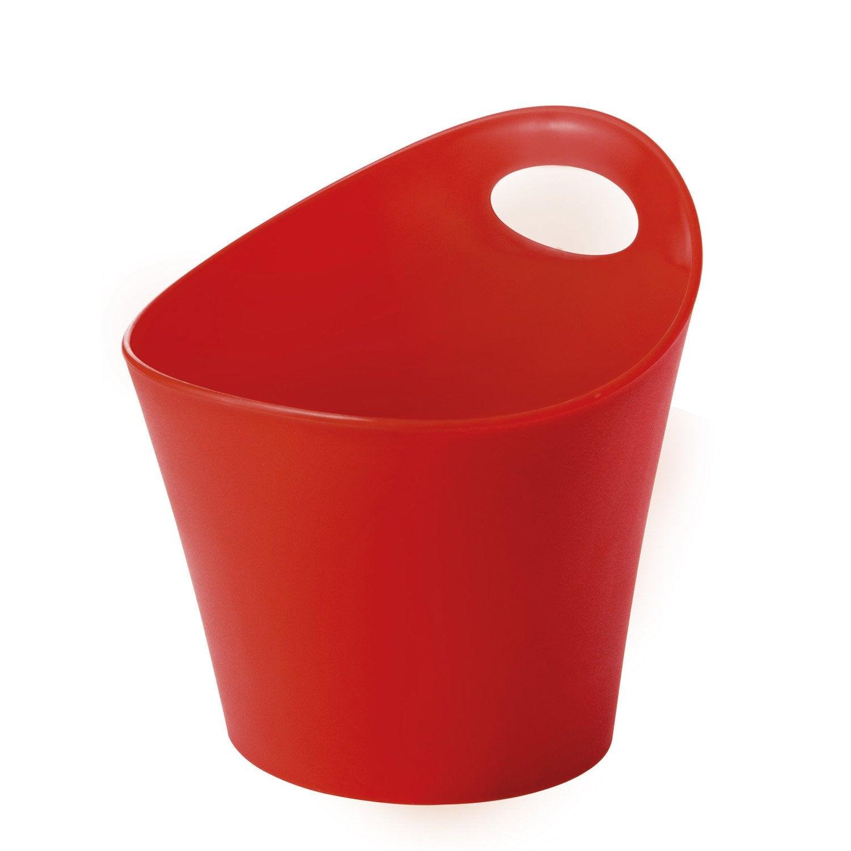 pot ustensiles plastique rouge leroy merlin. Black Bedroom Furniture Sets. Home Design Ideas