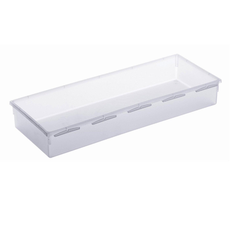 Organiseur de tiroir x cm leroy merlin - Fixer plan de travail sans meuble ...
