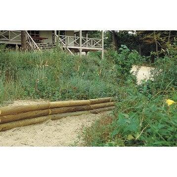 retenue de terre planter sauvage bois naturel h x. Black Bedroom Furniture Sets. Home Design Ideas