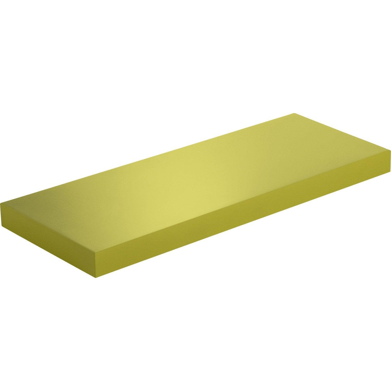 etag re murale jaune anis n 3 spaceo l 60 x p 23 5 cm ep. Black Bedroom Furniture Sets. Home Design Ideas
