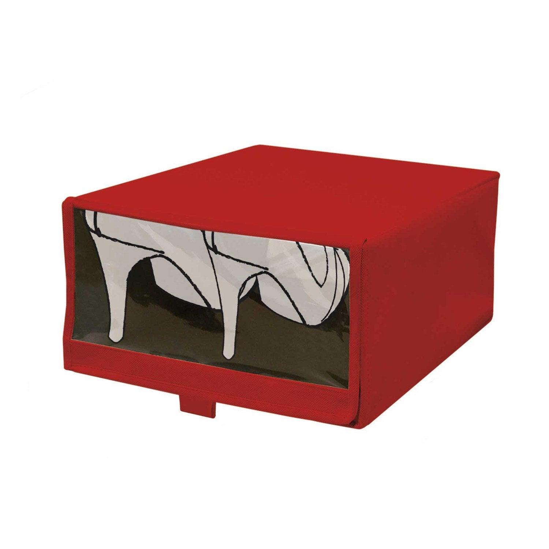 bo te chaussures rouge rouge n 3 leroy merlin. Black Bedroom Furniture Sets. Home Design Ideas