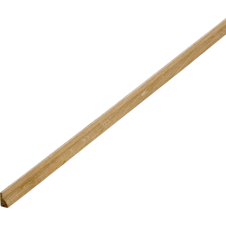Parclose ch ne petits noeuds imitation ch ne 9 x 12 mm l for Parclose fenetre bois