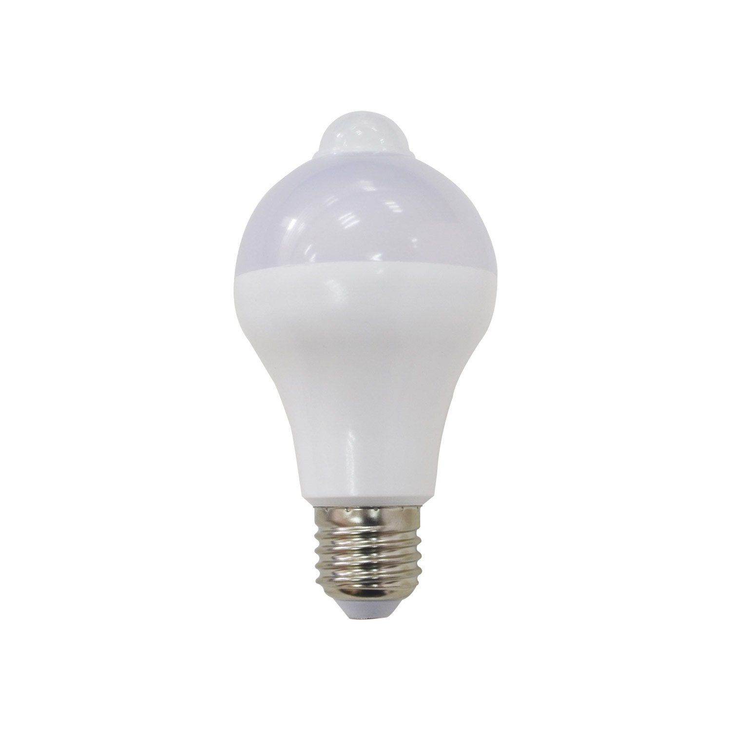 Ampoule standard led d tection 12w 1055lm quiv 75w for Led exterieur leroy merlin
