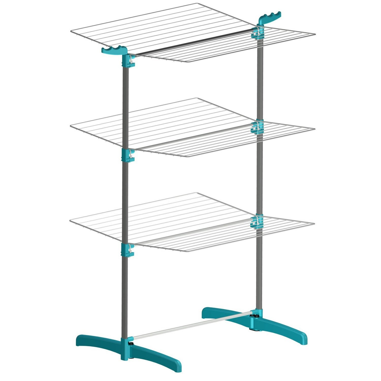 etendoir tour blanc bleu azur leroy merlin. Black Bedroom Furniture Sets. Home Design Ideas