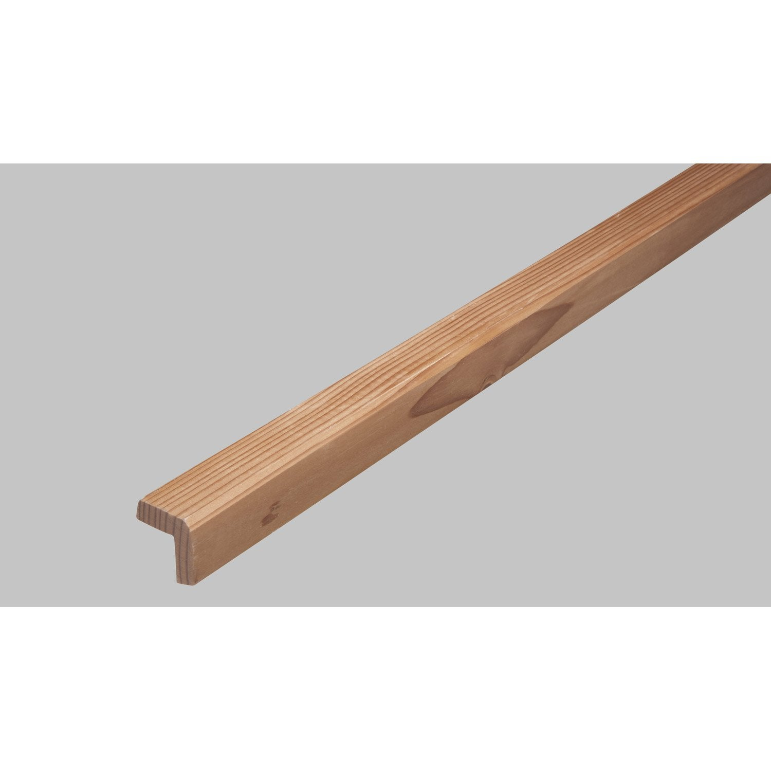 Baguette d 39 angle en douglas long 250cm section 46x46mm for Baguette d angle carrelage
