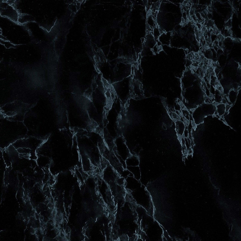 Rev tement adh sif marbre noir x 2 m leroy merlin - Revetement adhesif leroy merlin ...