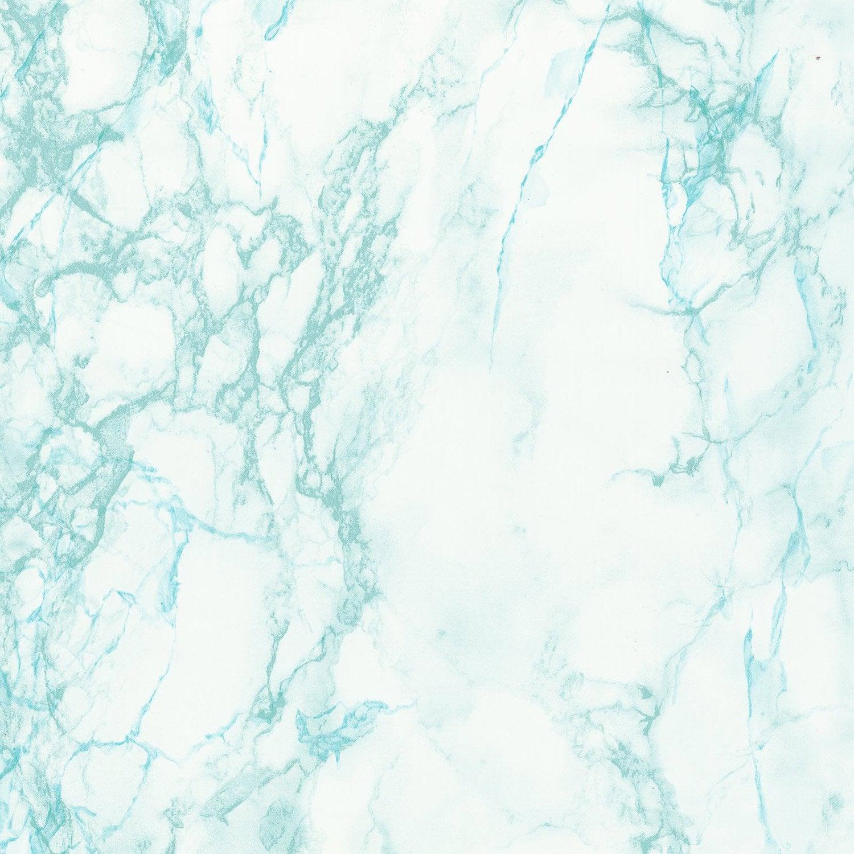 Rev tement adh sif marbre gris bleu x 2 m leroy - Revetement adhesif leroy merlin ...