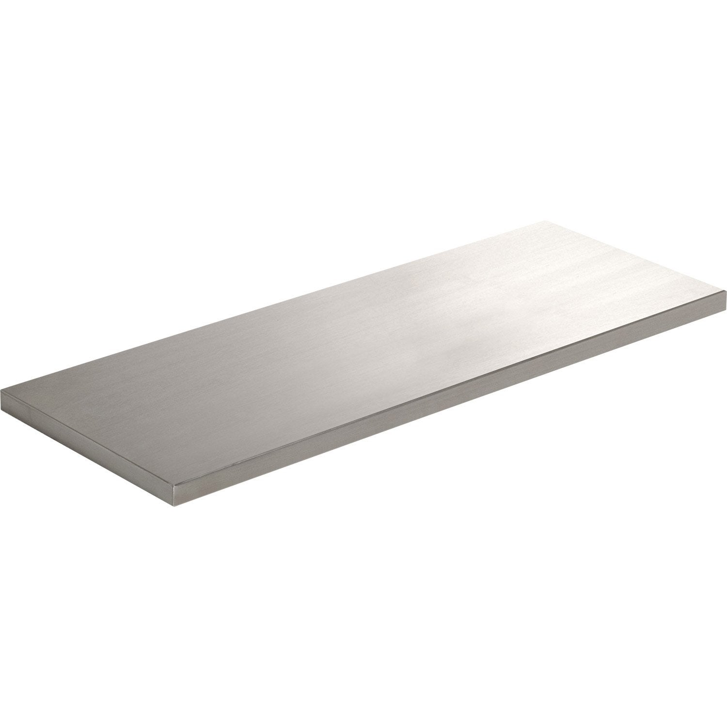 Etag re murale inox l 60 x p 20 cm mm leroy merlin - Tablettes murales leroy merlin ...