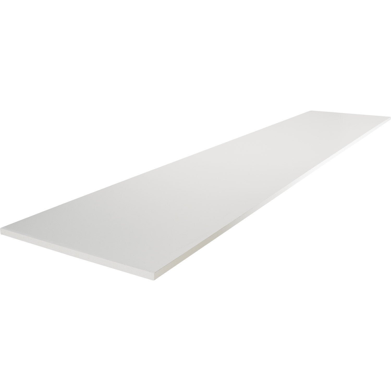 Tablette m lamin blanc primo x 60 cm p 1 6 cm leroy merlin - Leroy merlin melamine ...