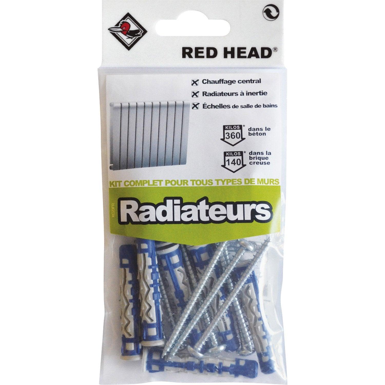kit chevilles verrouillage de forme radiateur red head. Black Bedroom Furniture Sets. Home Design Ideas