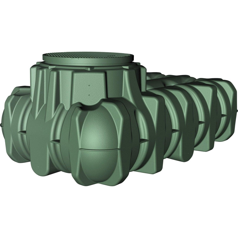 R cup rateur d eau de pluie enterr e 3000l - Recuperateur eau de pluie leroy merlin ...