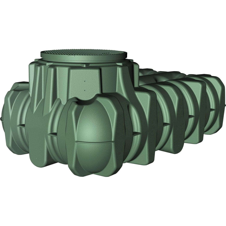 Cuve r cup rateur d 39 eau enterrer - Recuperateur d eau a enterrer ...
