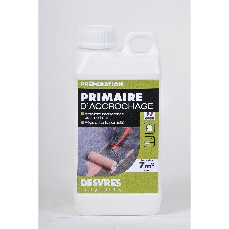 primaire d'accrochage desvres, 2 l | leroy merlin - Primaire D Accrochage Peinture Plafond