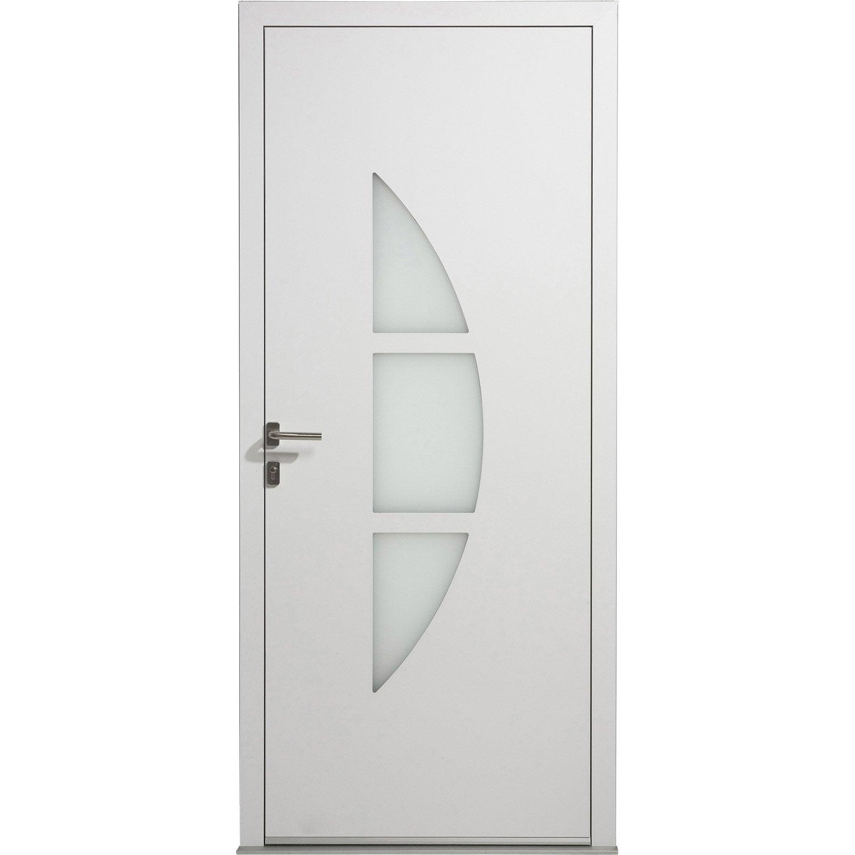 Porte entree alu leroy merlin maison design for Porte d entree aluminium castorama