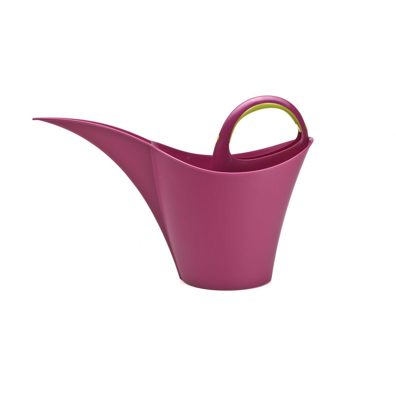 arrosoir keira 10l prune leroy merlin. Black Bedroom Furniture Sets. Home Design Ideas