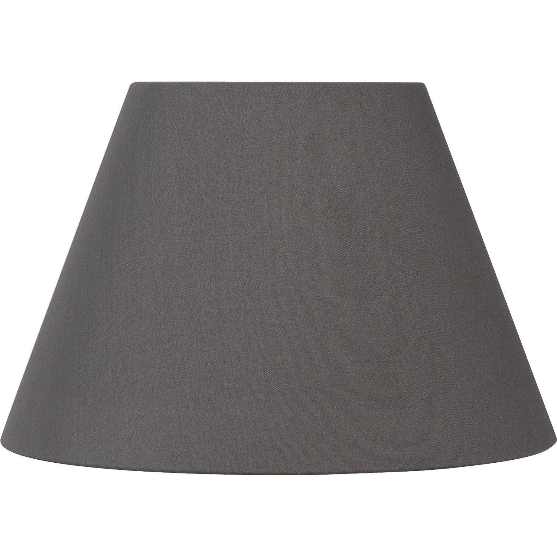 abat jour sweet 35 cm coton poivre leroy merlin. Black Bedroom Furniture Sets. Home Design Ideas