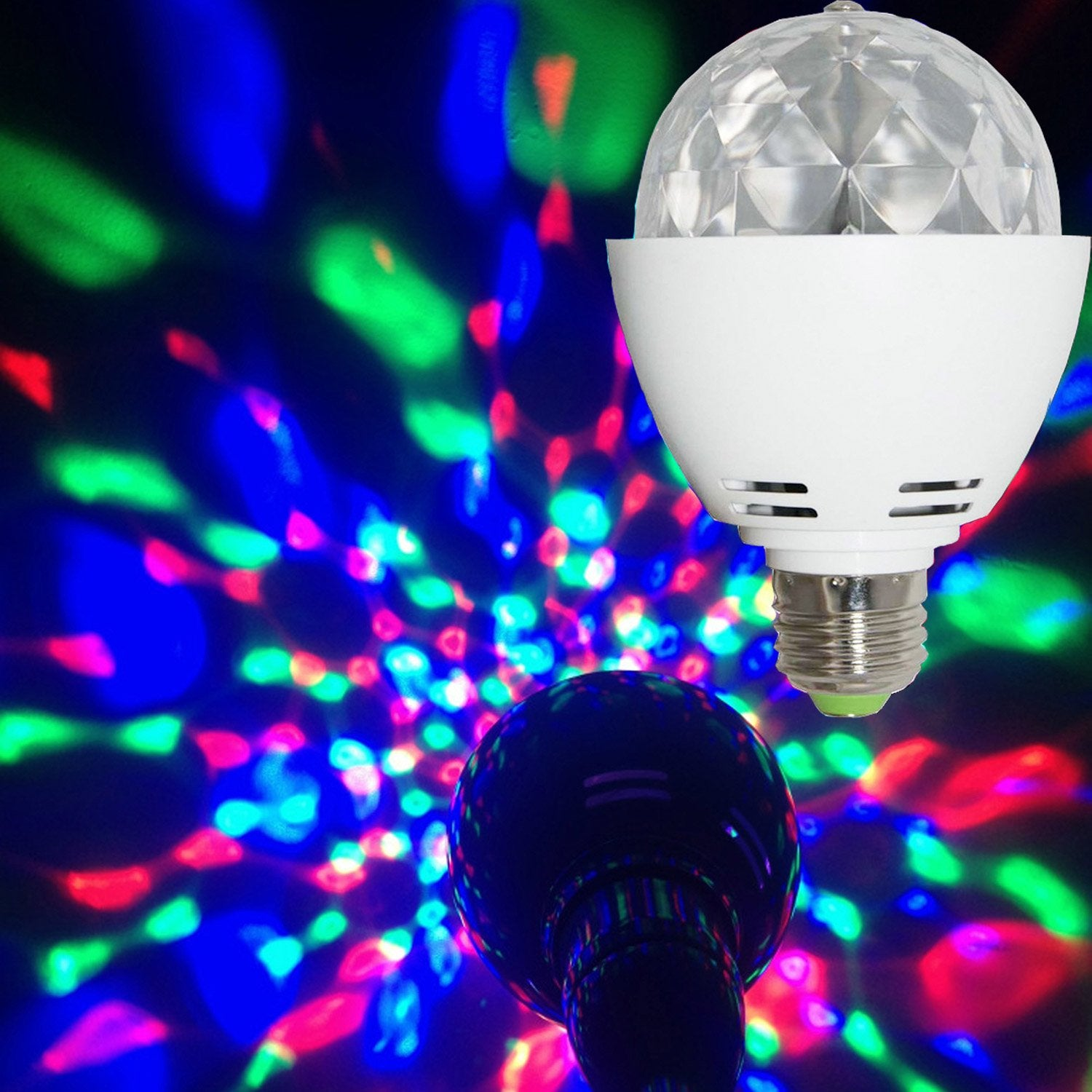 Ampoule led disco changement de couleurs e27 360 for Ampoule de couleur castorama