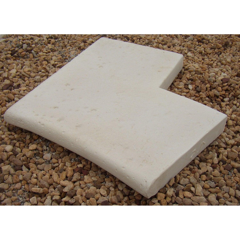 Margelle en pierre reconstitu e ton pierre leroy merlin - Barbecue en pierre leroy merlin ...