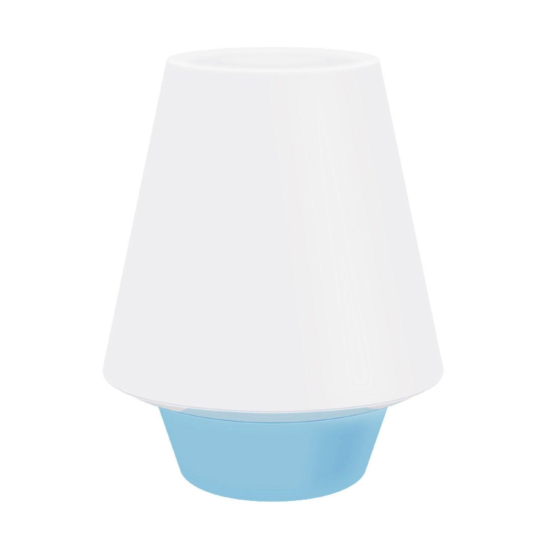 Lampe led int gr e kim seynave plastique blanc et bleu 3 6 w leroy merlin - Lampe led leroy merlin ...