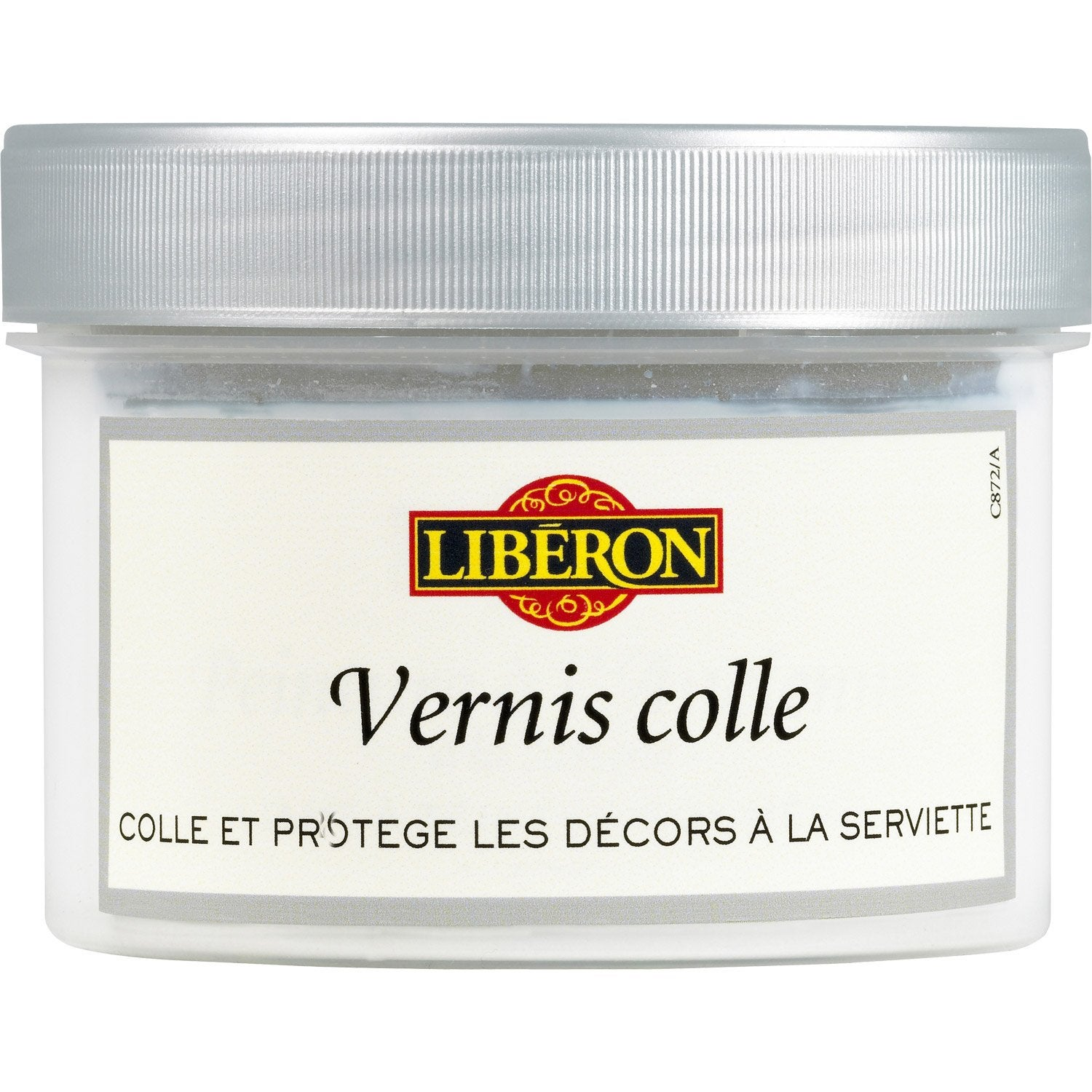 vernis colle pour serviette lib 250ml leroy merlin. Black Bedroom Furniture Sets. Home Design Ideas