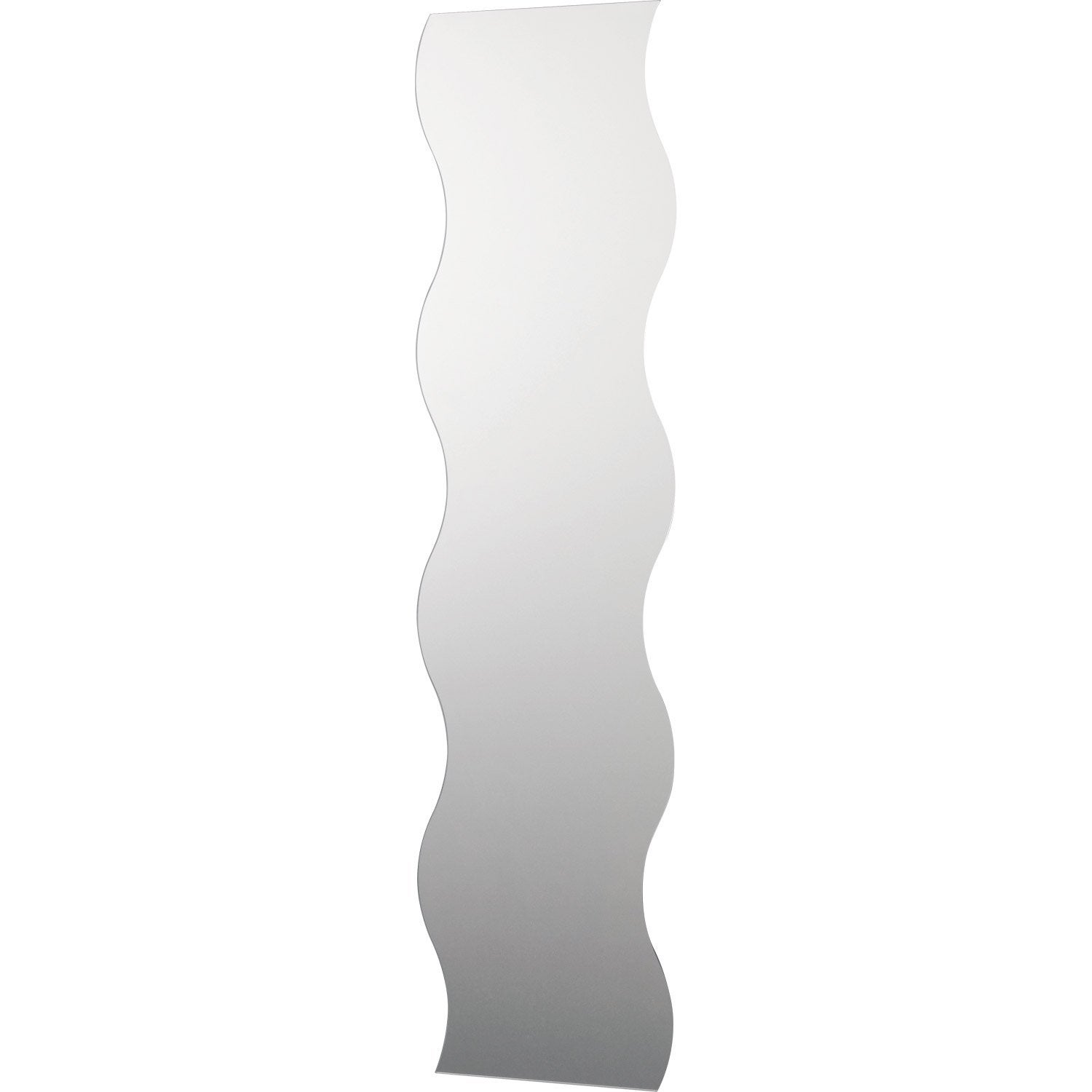 Miroir vague 120 x 30 cm leroy merlin for Miroir 30 cm largeur