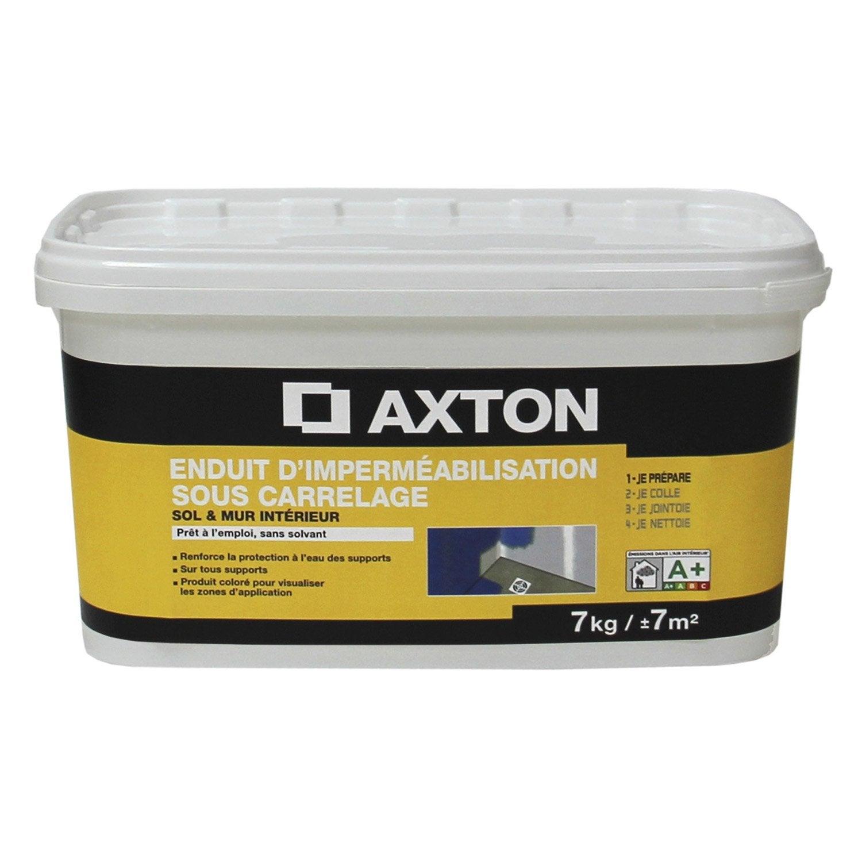 Enduit d 39 imperm abilisation axton 7 kg leroy merlin - Peinture sans enduit ...