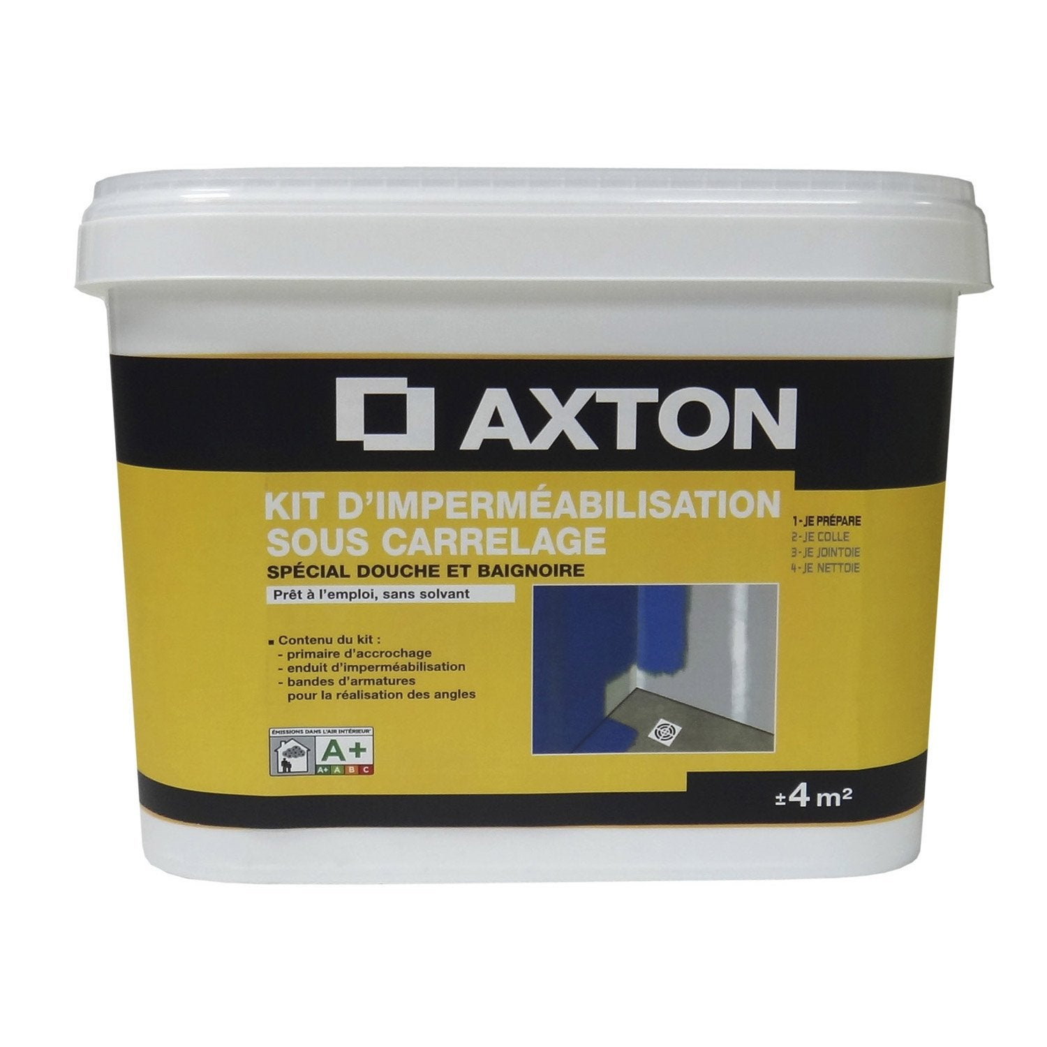 Kit imperm abilisation axton 4 m leroy merlin for Kit etancheite sous carrelage