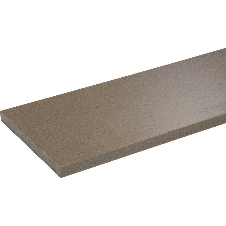 pin etag re murale spaceo color gris l 23 5 x p 23 5 cm p. Black Bedroom Furniture Sets. Home Design Ideas