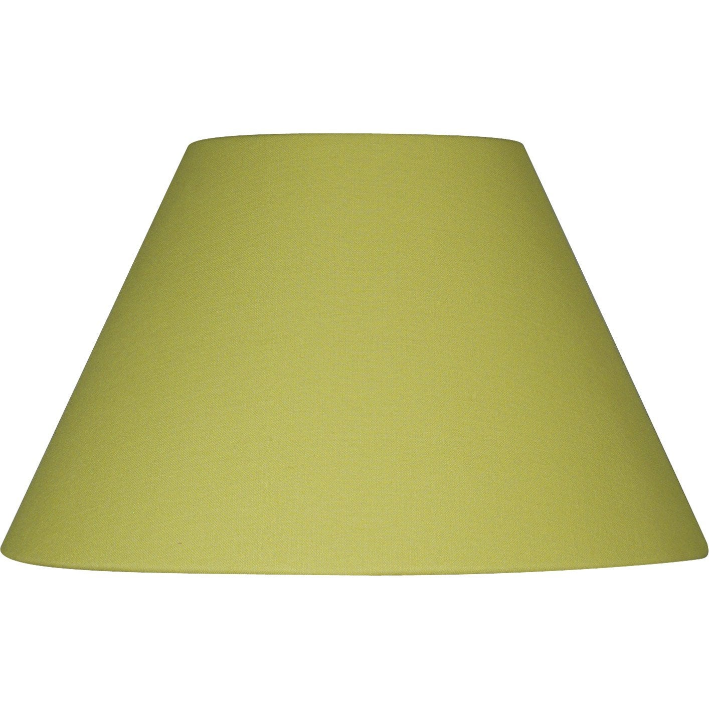 abat jour sweet 19 cm coton anis inspire leroy merlin. Black Bedroom Furniture Sets. Home Design Ideas