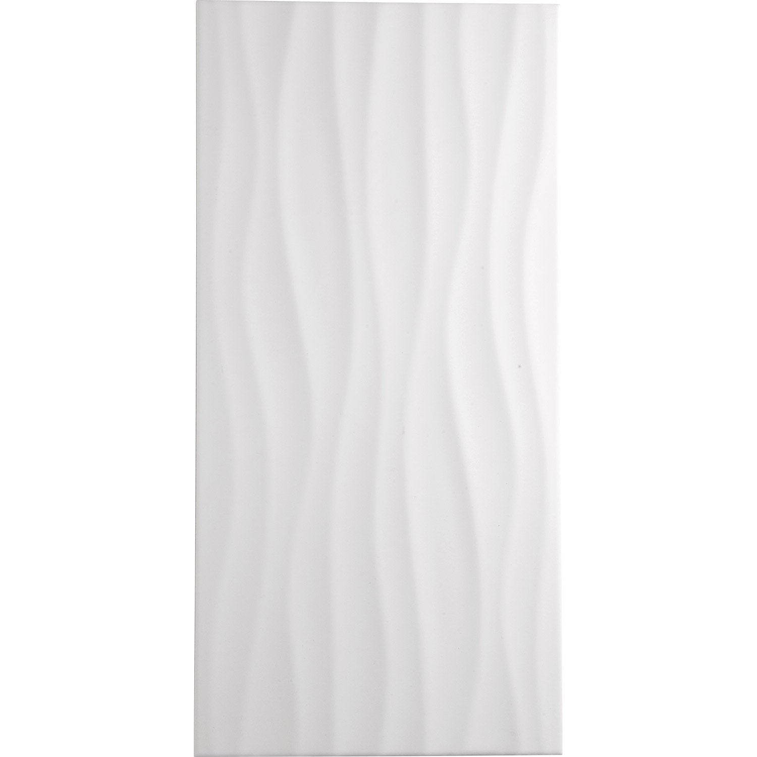 Beautiful carrelage salle de bain blanc relief ideas for Carrelage blanc mural salle de bain
