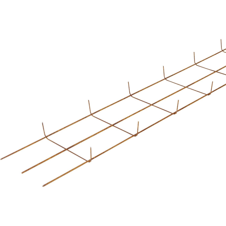 Semelle Filante Z1 L 35 Cm Diam 7 Mm L 6 M Leroy Merlin
