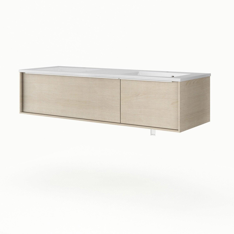 meuble vasque 136 cm neo frame leroy merlin. Black Bedroom Furniture Sets. Home Design Ideas