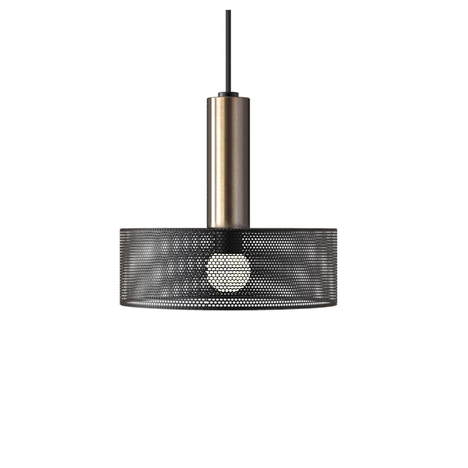 Simple suspension e design thyzen mtal noir x w mathias for Lustre cuisine original
