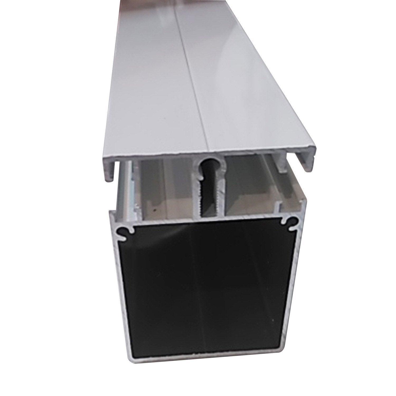 Kit jonction portante pour plaque ep 16 32 mm blanc ral 9010 l 4 m leroy - Plaque polycarbonate 32 mm leroy merlin ...