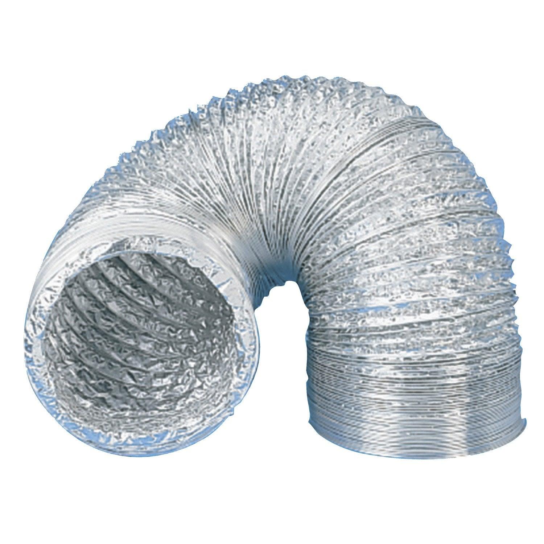 Conduit souple aluminium equation mm l 3 m csa150 leroy merlin - Gaine hotte aspirante ...