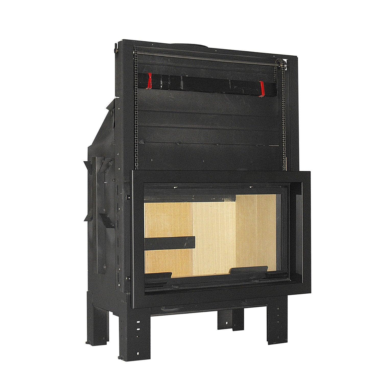 insert avec cadre noir vesuvio e900 leroy merlin. Black Bedroom Furniture Sets. Home Design Ideas