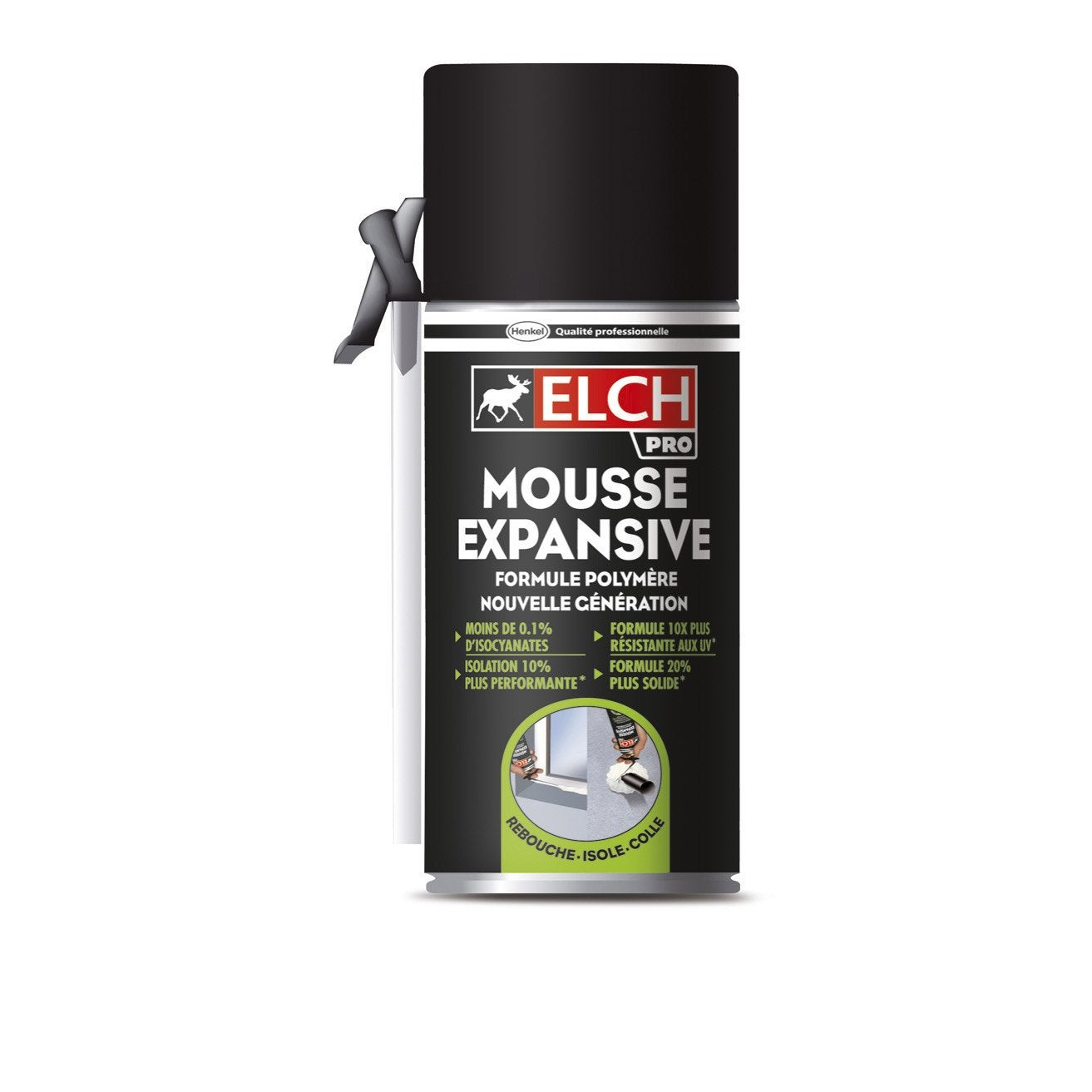 Mousse expansive elch 300 ml leroy merlin - Mousse acoustique leroy merlin ...