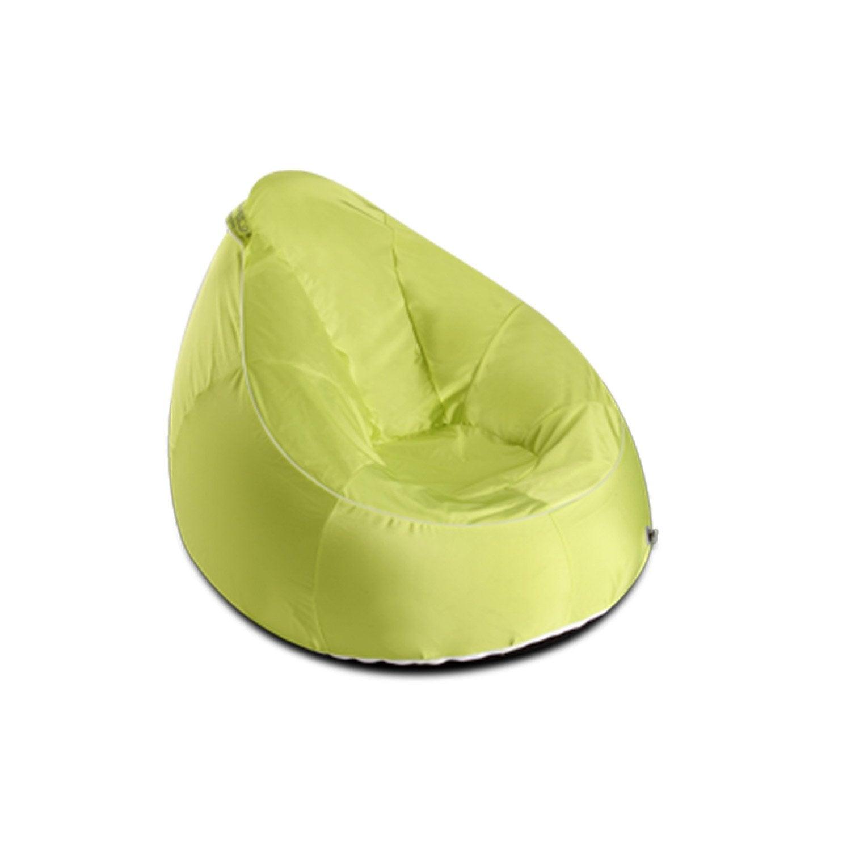 pouf en forme de fauteuil my note deco uni anis leroy. Black Bedroom Furniture Sets. Home Design Ideas