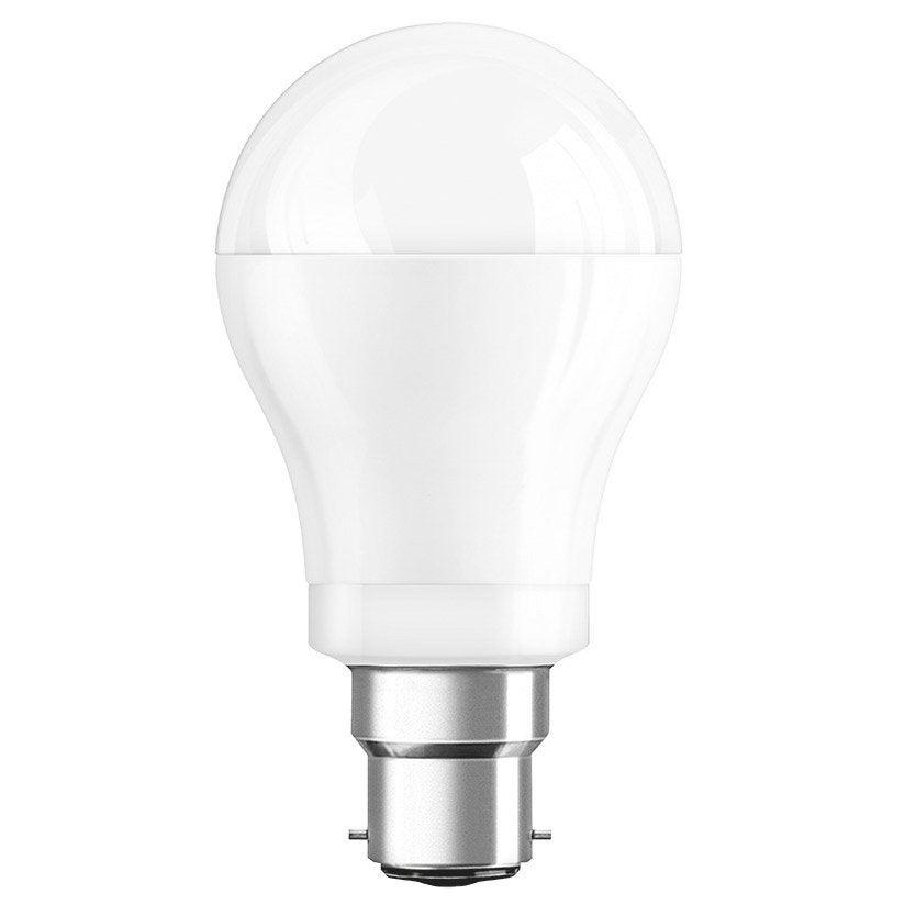 Ampoule standard led 10w osram b 22 lumi re chaude env for Changer ampoule garage