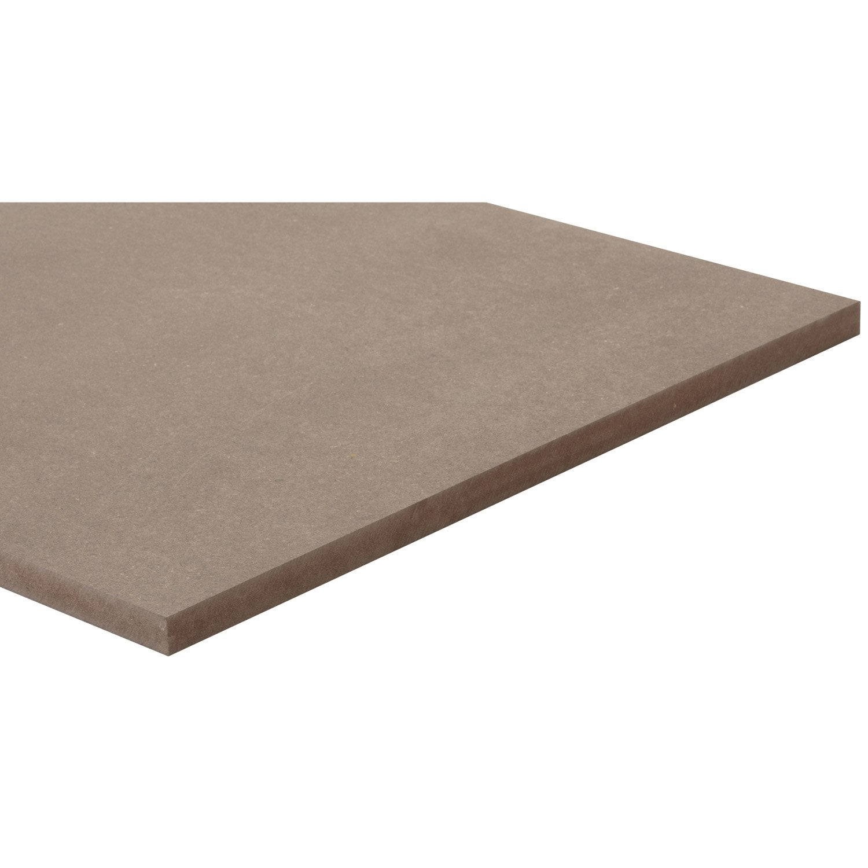 pr d coup mdf m dium pr d coup teint e masse chocolat l60 x l80 leroy merlin. Black Bedroom Furniture Sets. Home Design Ideas
