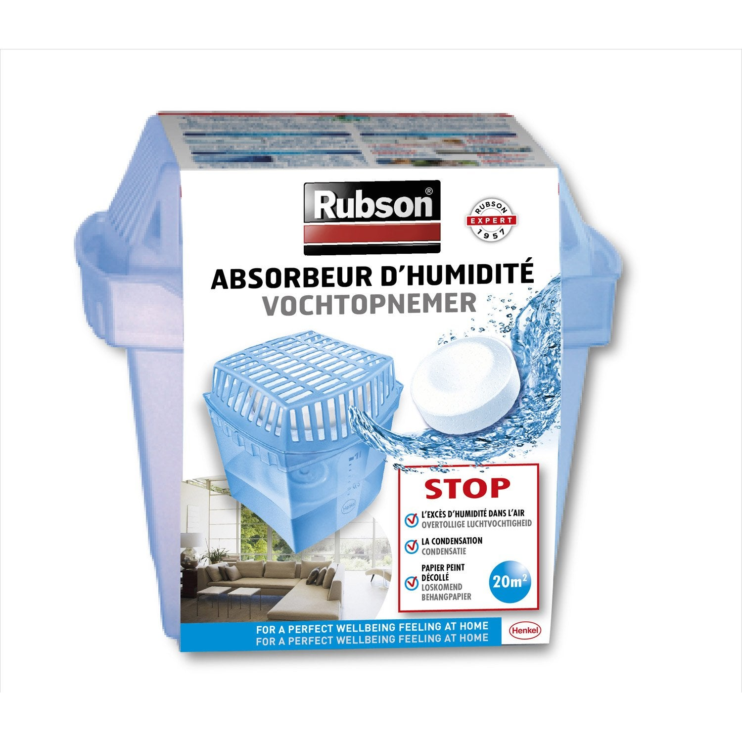 Humydry basic absorbeur d humidit 250 g - Absorbeur humidite electrique ...