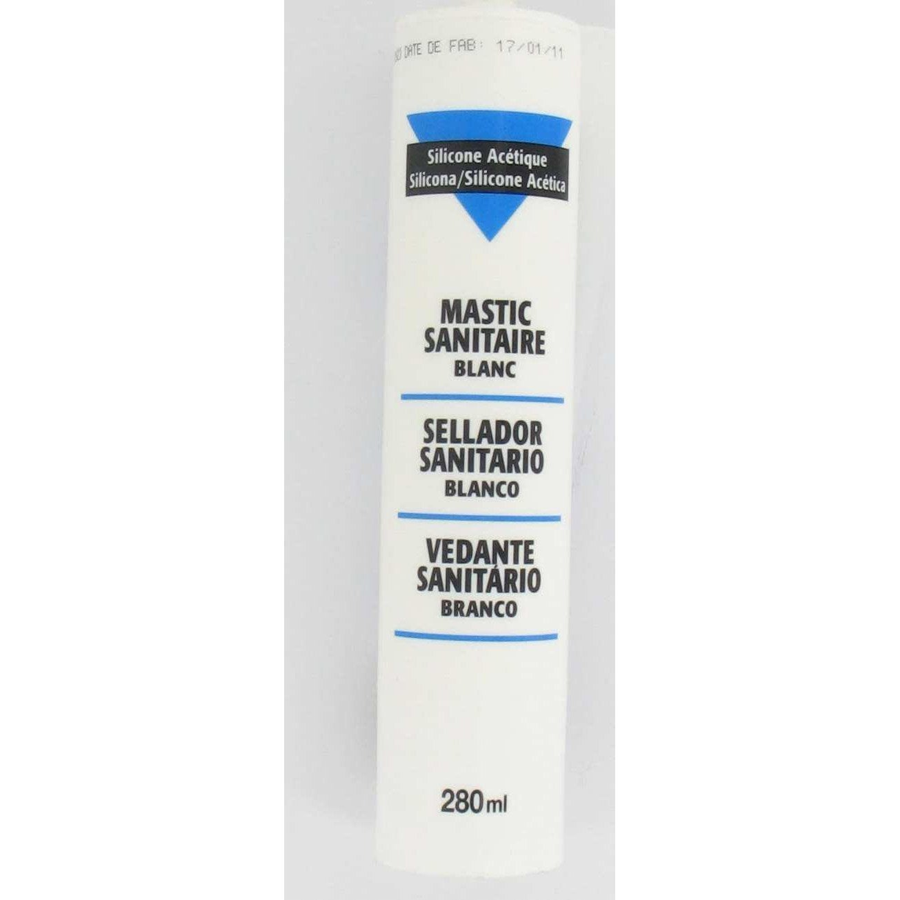 mastic antimoisissure blanc 280 ml leroy merlin. Black Bedroom Furniture Sets. Home Design Ideas