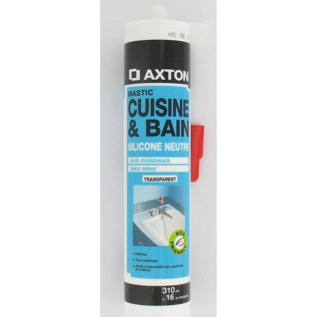 mastic antimoisissure axton transparent 310 ml leroy merlin. Black Bedroom Furniture Sets. Home Design Ideas
